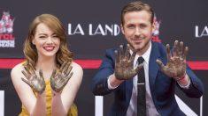Emma Stone y Ryan Gosling. (Foto: AFP)