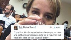 Tania Sánchez. (Foto: Twitter)