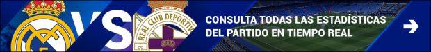 Real Madrid Vs Deportivo de La Coruña: resumen, resultado y goles (3-2)