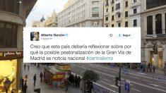 Tuit de Alberto Garzón.