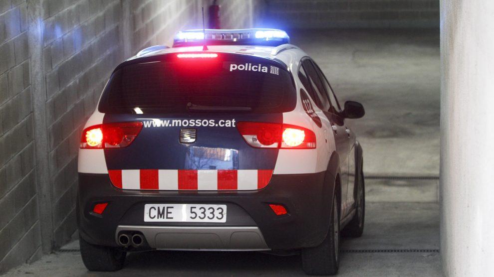 Una partulla de los Mossos d'Esquadra. (Foto: EFE)