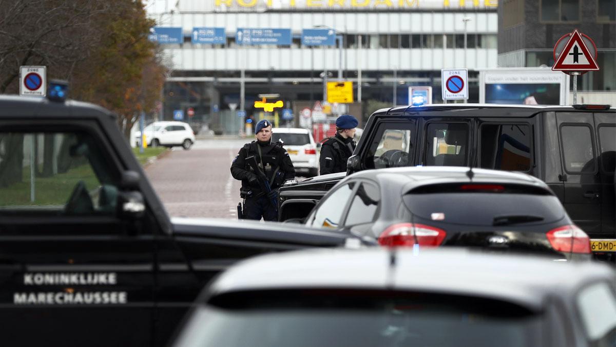 Policía holandesa (Foto: AFP)
