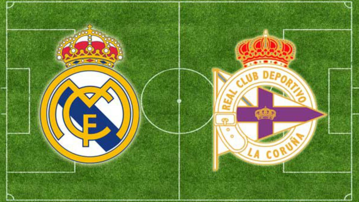 Real madrid vs deportivo de la coru a horario y canal de for Real madrid tv