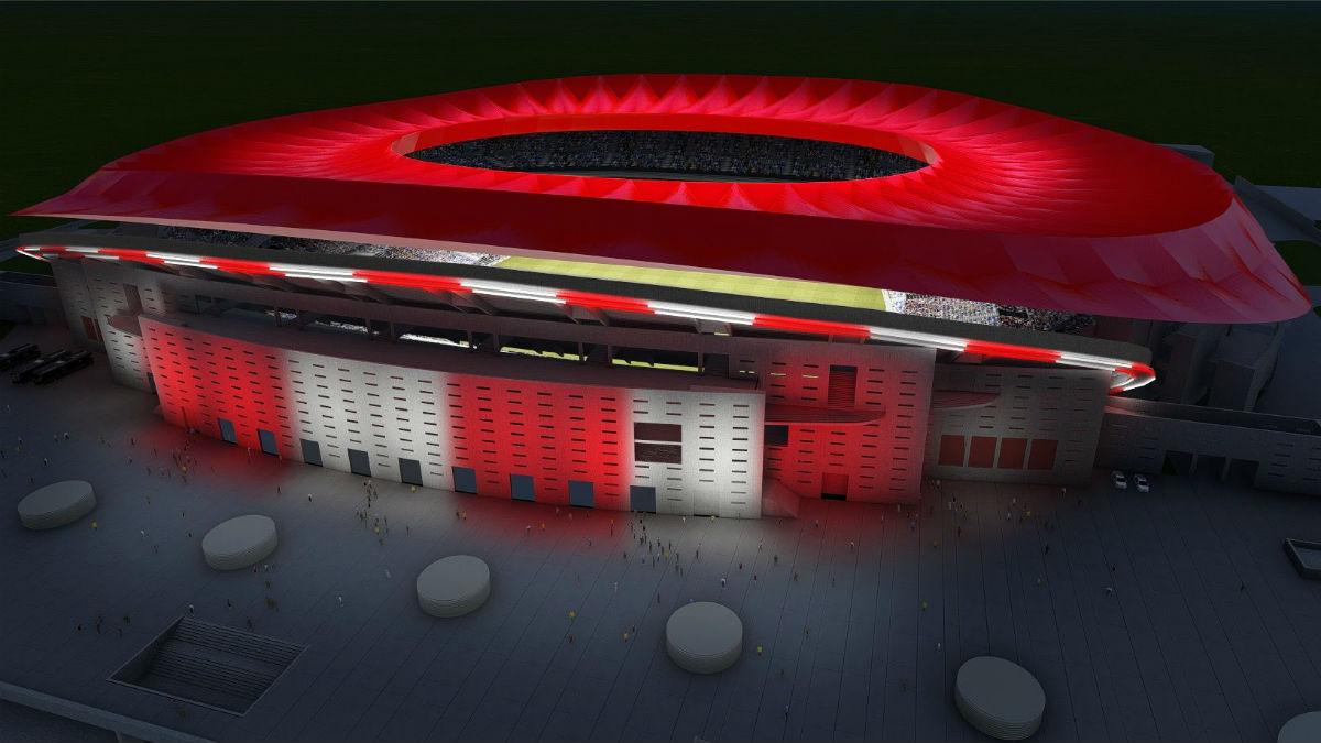 El nuevo estadio se llamará Wanda Metropolitano.