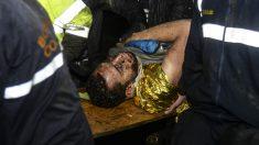El jugador del Chapecoense Helio Neto ya respira sin ayuda. (AFP)