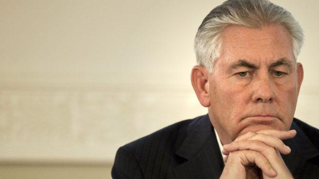Trump explota e insulta a su ex secretario de Estado