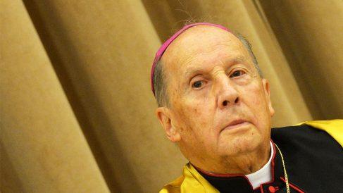 Javier Echevarría, prelado del Opus Dei (Foto: AFP)