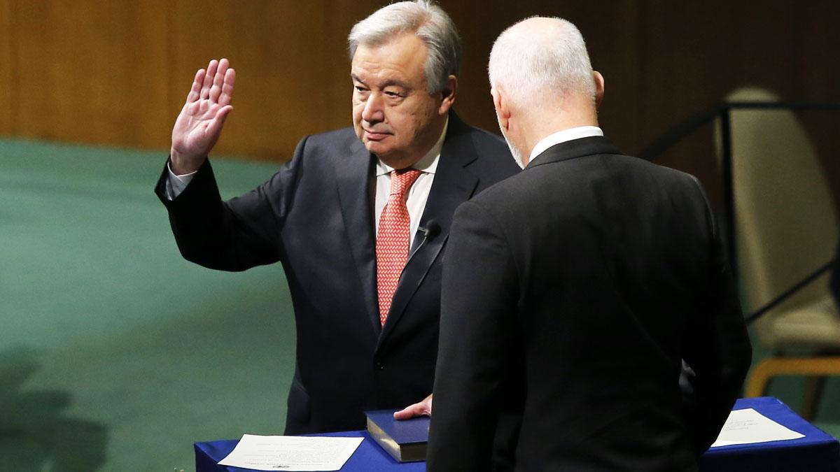 Antonio Guterres, nuevo secretario general de la ONU (Foto: AFP)
