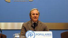 El portavoz del PP en el Ayuntamiento de Zaragoza, Jorge Azcón. (Foto: PP)