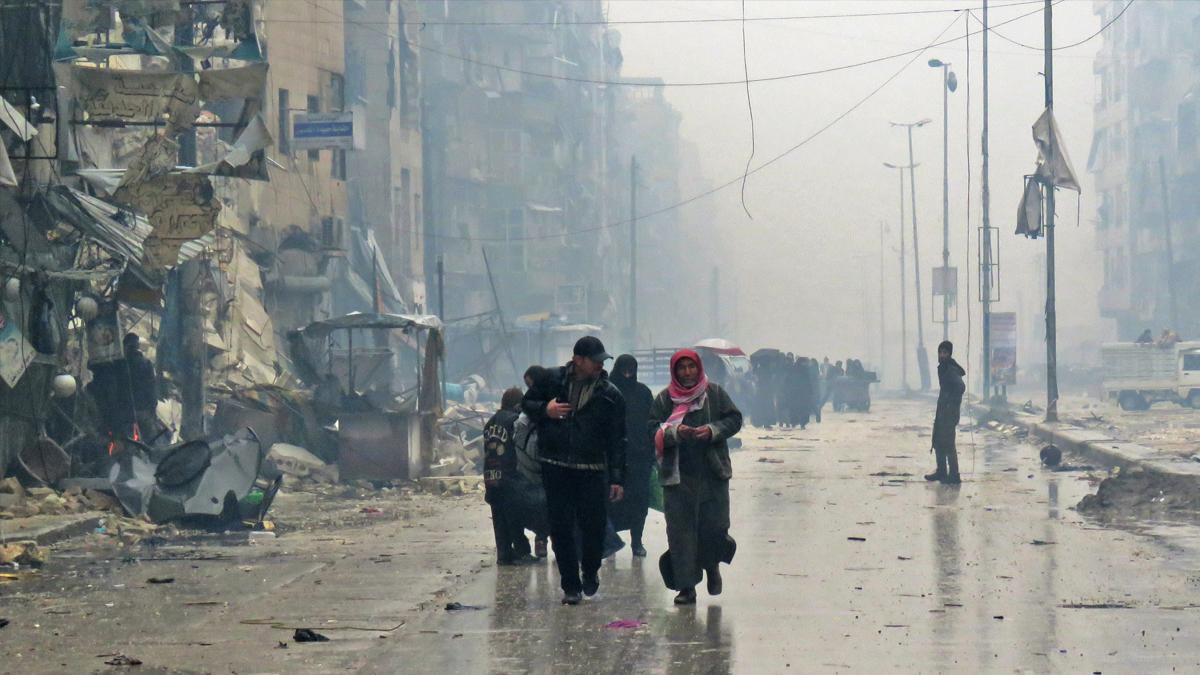 Imagen de Alepo, Siria (Foto: AFP)