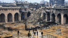 Alepo ya ha sido casi recuperada por el régimen de Al Assad (Foto: AFP)