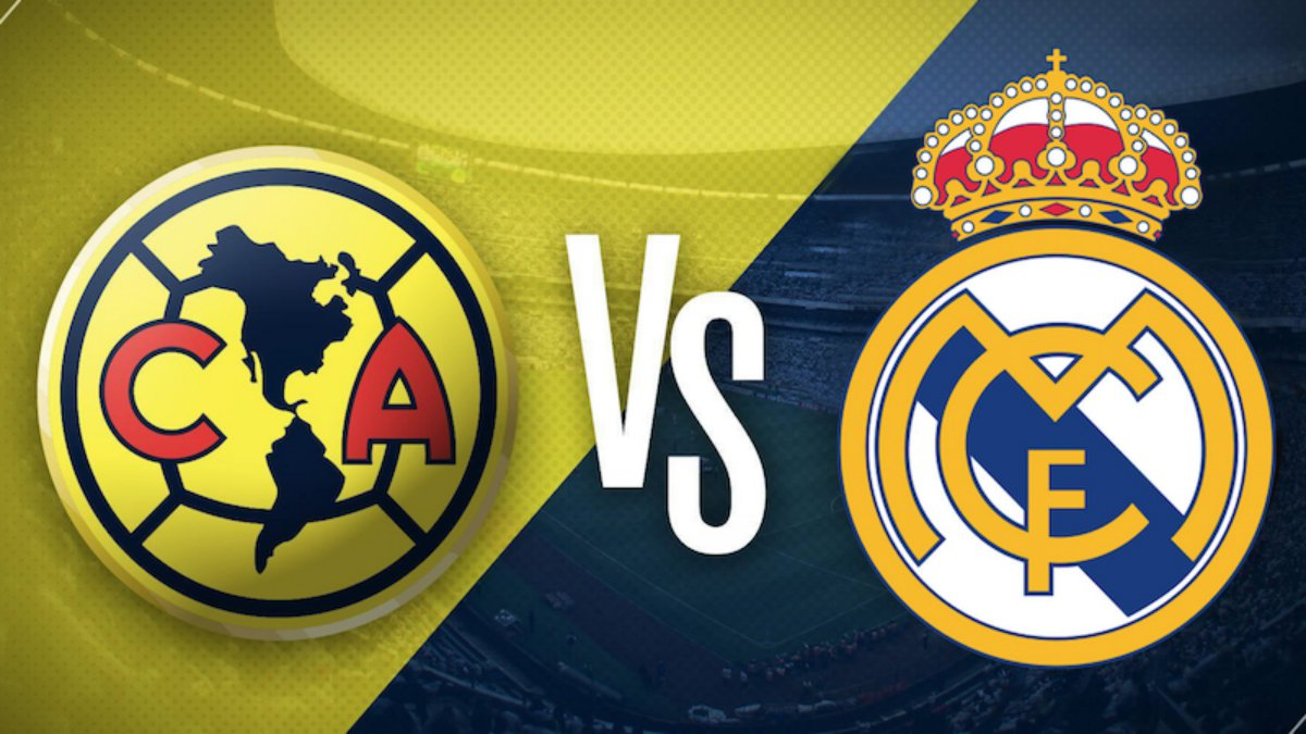 Club am rica vs real madrid hoy horario y canal de televisi n for Futbol madrid hoy hora