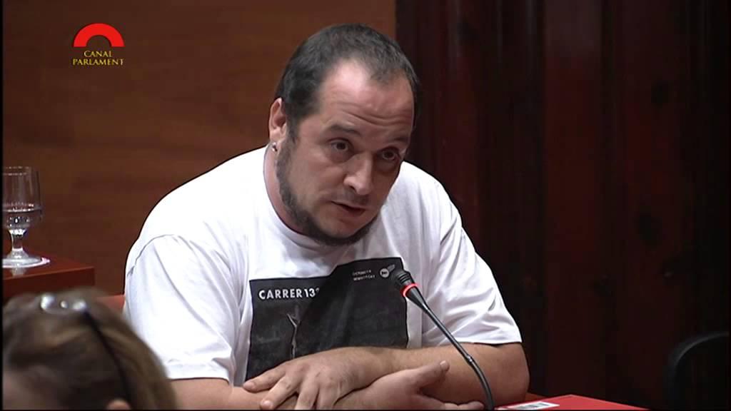 David Fernández, ex diputado de la CUP.