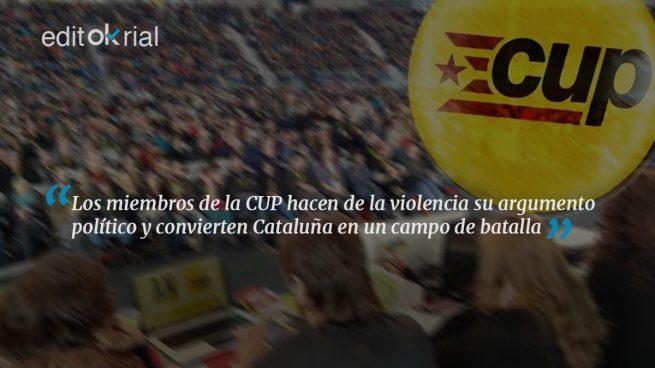 La CUP batasuniza Cataluña