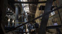 Catedral cristiana en El Cairo donde se cometió el atentado (Foto: AFP)