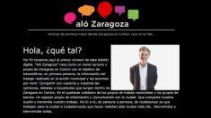 El alcalde de Zaragoza Pedro Santisteve se estrena en 'Aló Zaragozá'. (Foto: Web de ZEC)