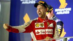 Sebastian Vettel considera que sus polémicas por los mensajes de radio captados esta temporada son exageradas. (Getty)