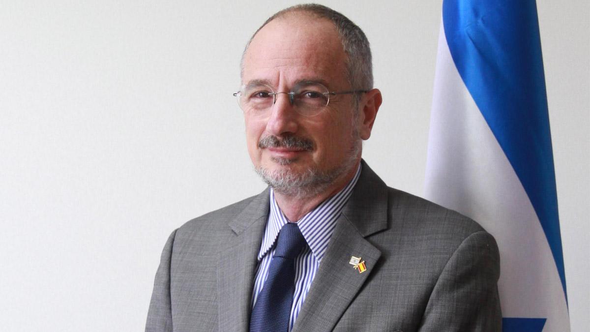 Daniel Kutner, embajador de Israel en España (Foto: Enrique Falcón)