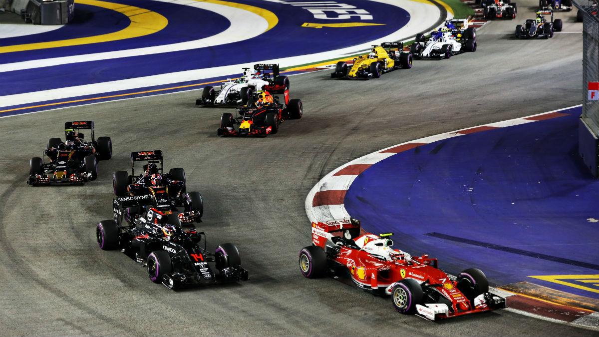 Una temporada entera de Fórmula 1 da para muchos y curiosos datos. (Getty)