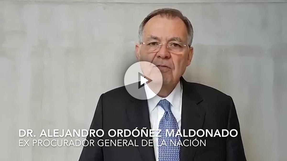 Alejandro Ordóñez, ex procurador general Colombia.