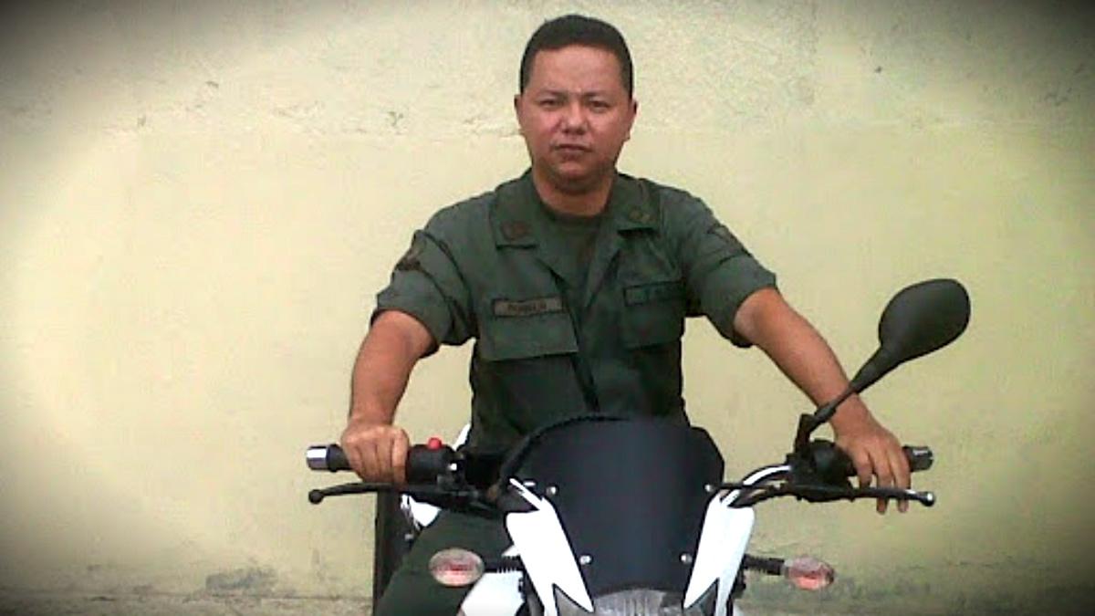 El sargento de la Guardia Nacional venezolana Albin Bonilla, condenado por matar a una manifestante en febrero de 2014.