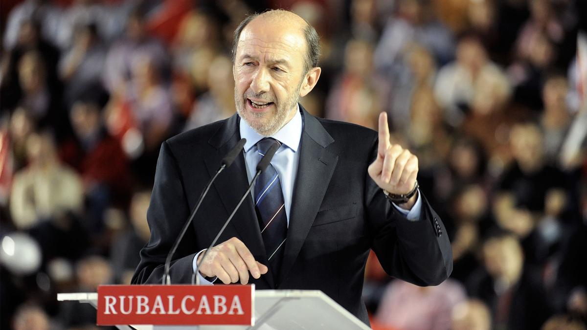 Alfredo Pérez Rubalcaba. (Foto: Getty)