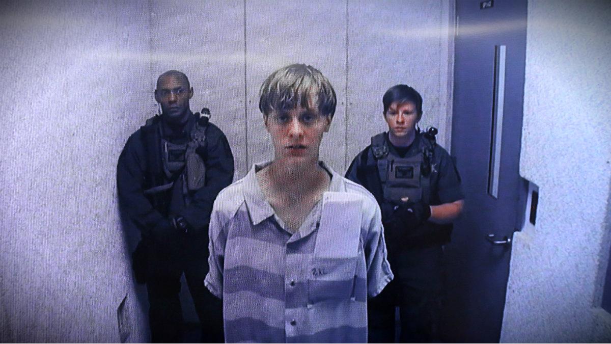 Dylan Roof, autor de la masacre racista de la Iglesia Emanuel de Charleston, tras ser detenido. (Getty)