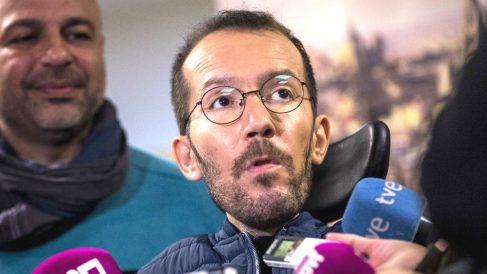 El secretario de Organización de Podemos, Pablo Echenique. (Foto: EFE)
