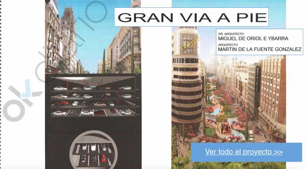 """El arquitecto que diseñó una Gran Vía soterrada: """"La peatonalización de Carmena es un disparate"""""""