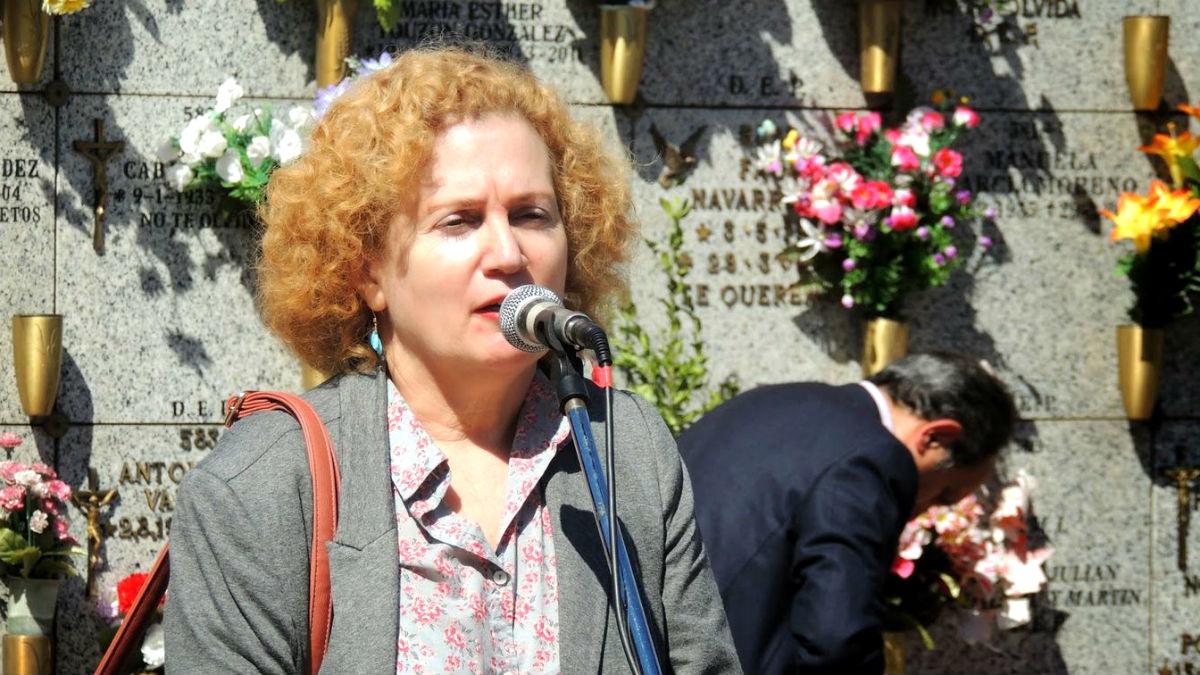 La hijastra del dictador Fidel Castro, Mirta Núñez Díaz-Balart.