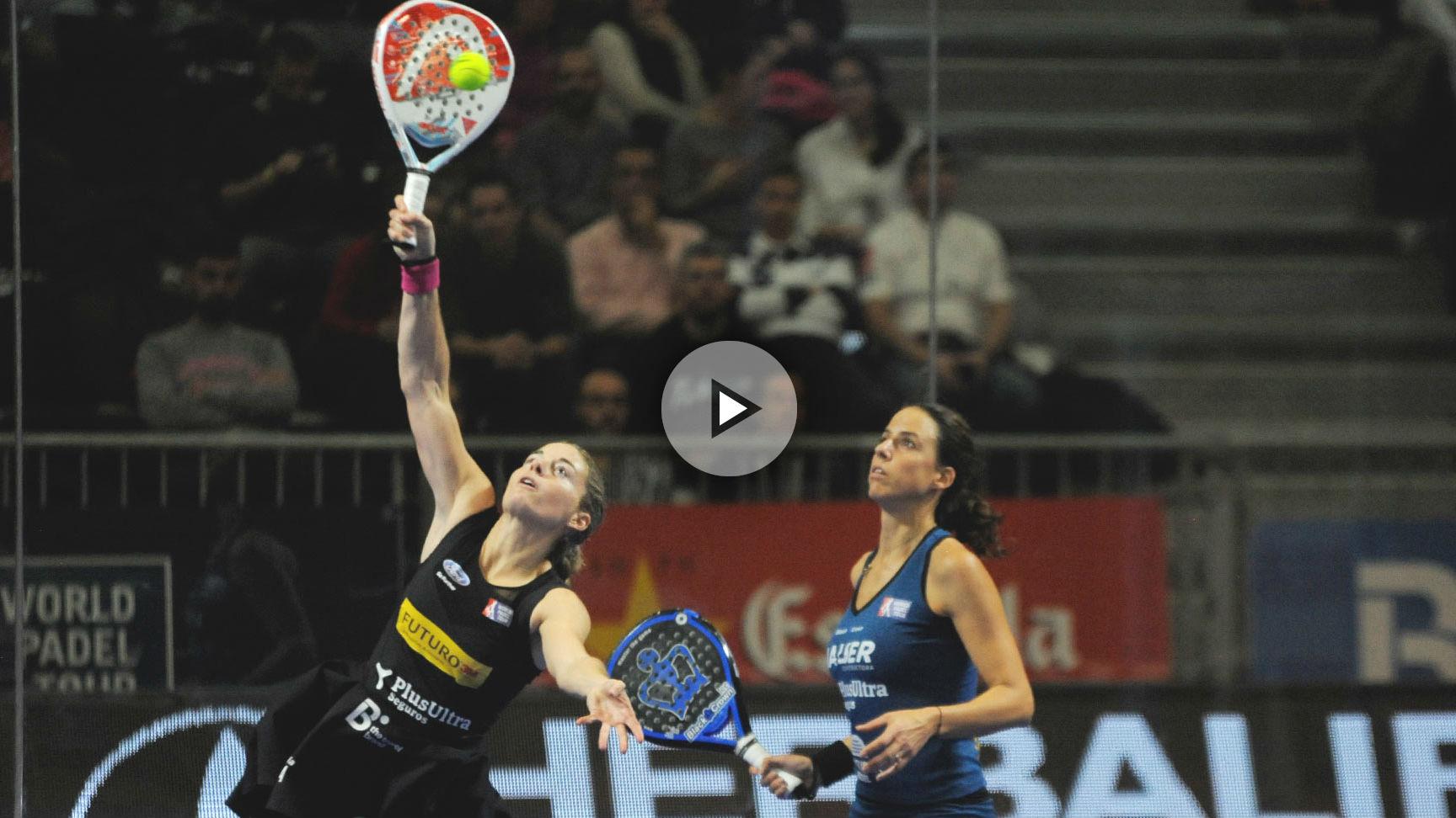 Ale Salazar y Marta Marrero pasan invictas a las semifinales del Estrella Damm Master Final. (worldpadeltour)