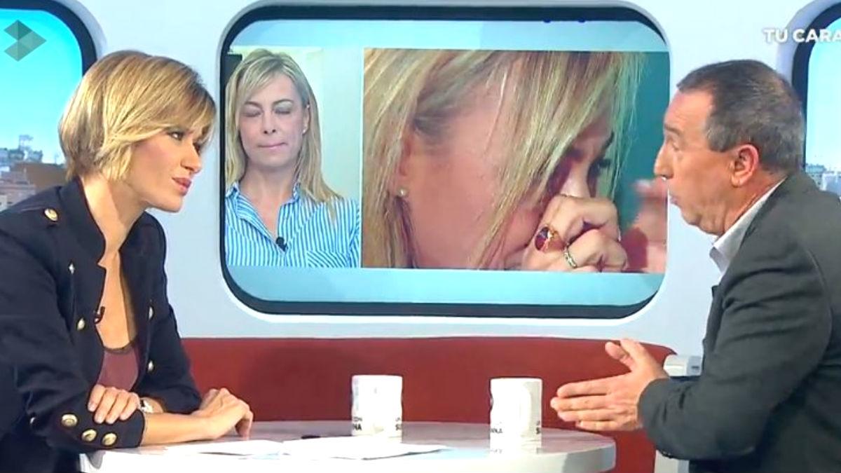 El diputado de Compromís, Joan Baldoví, en el programa de 'Espejo Público' con Susanna Griso (Foto: Twitter)