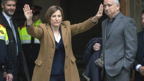 La presidenta del Parlament, Carme Forcadell. (Foto: EFE)