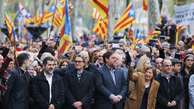 Resultado de imagen para cataluña independistas
