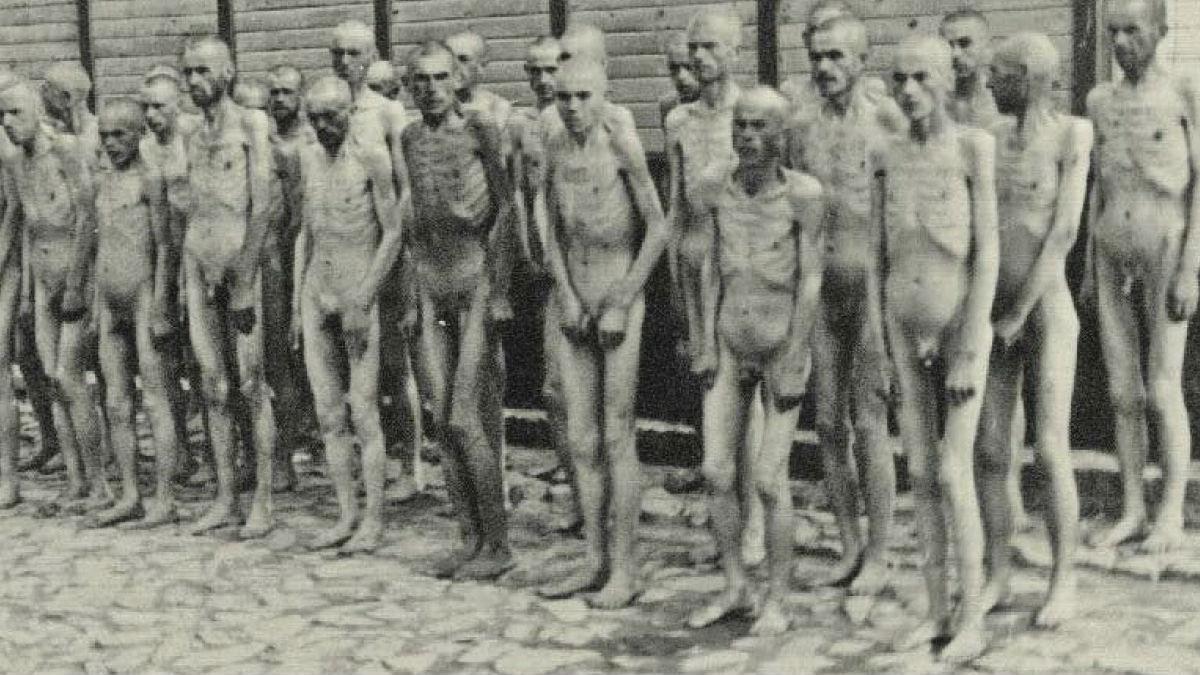 Prisioneros en el campo de concentración de Mauthausen, construido por el régimen nazi.