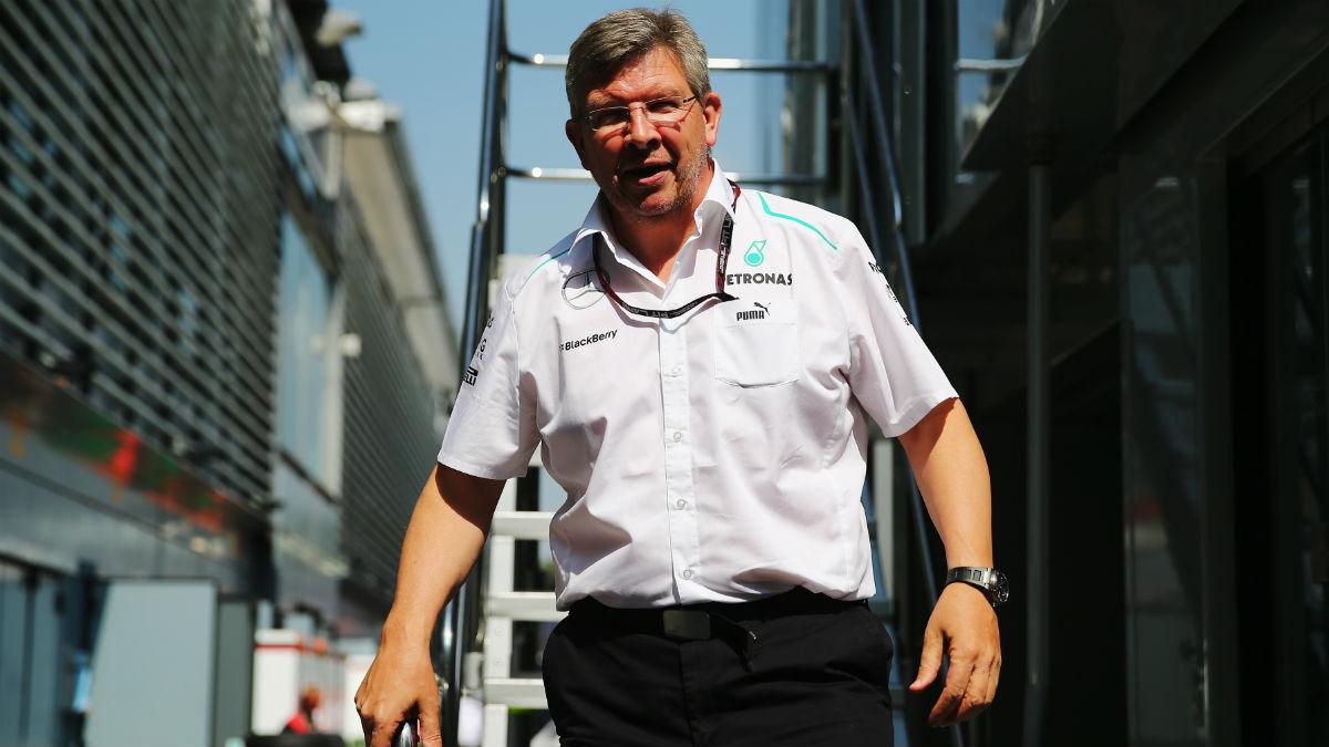 Ross Brawn ha analizado con detalle cómo espera que sea la Fórmula 1 de 2017. (Getty)