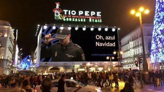 Imagen difundida por la Policía Nacional contra el narcotráfico.