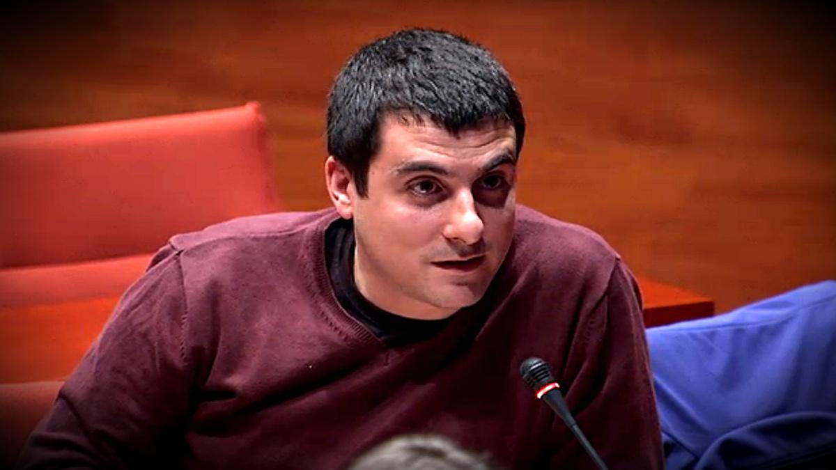Quim Arrufat, dirigente y ex diputado de la CUP.