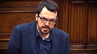 Sergio Sanz, diputado de Ciudadanos de ideología socialdemócrata.
