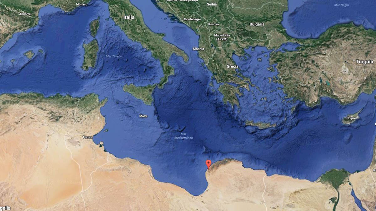 La localidad costera de Bengassi.