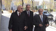 Carles Villarrubí a su llegada a la Audiencia Nacional. (Foto: Paco Toledo)