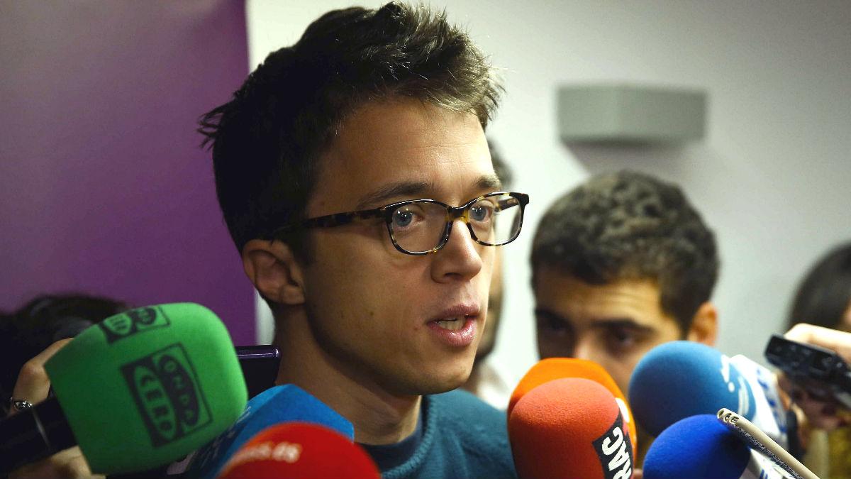 El exnúmero de dos de Podemos, Íñigo Errejón (Foto: Efe)