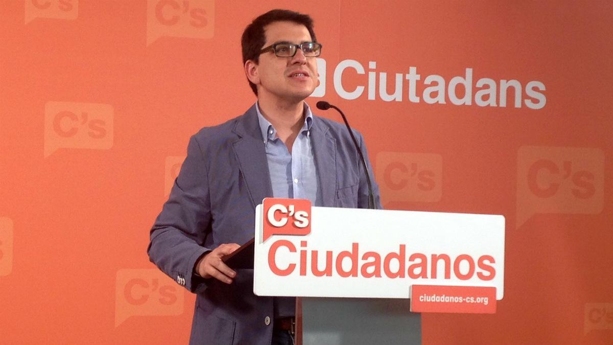 José María Espejo-Saavedra (C's), ex vicepresidente segundo de la Mesa del Parlament.