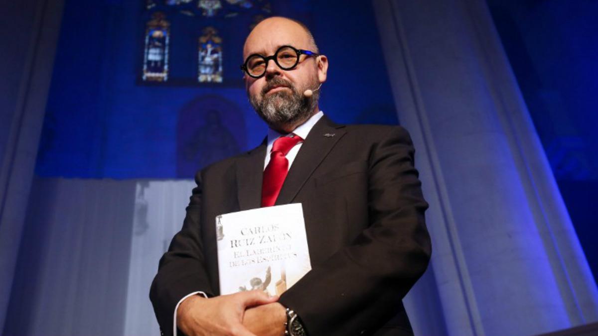 Carlos Ruiz Zafón. Foto: AFP