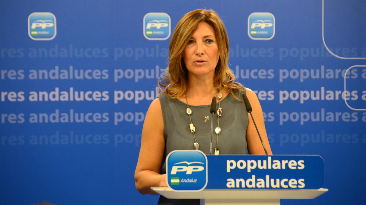 Alicia Martínez, vicesecretaria del PP de Sevilla.