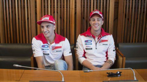 Iannone contradice a Dovizioso y afirma que es un piloto al que respeta mucho. (Getty)