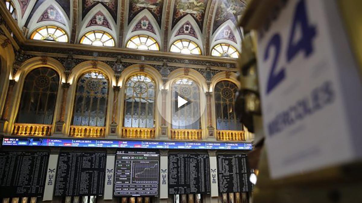 Bolsa de Madrid. IBEX 35 (Foto: EFE)
