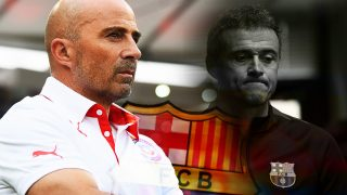 Sampaoli no cierra la puerta al Barça.