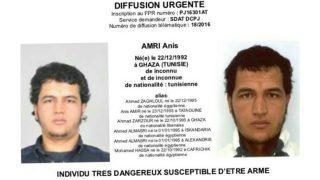 Anis Amri, tunecino sospechoso del atentado de Berlín.