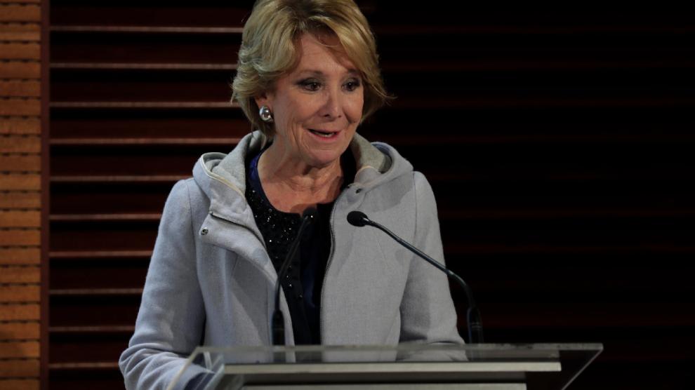 Esperanza Aguirre, portavoz del PP en el Consistorio capitalino. (Foto: Madrid)
